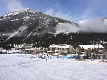 skiing in panorama mountain resort