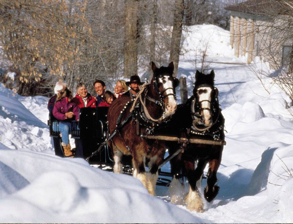 sleigh rides in park city