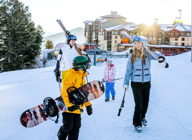 park city family ski trip