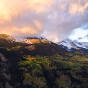 october snow telluride, october snow coloraod