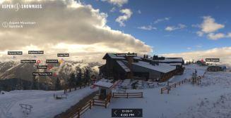 Aspen Mountain web cam, 10/9/17.