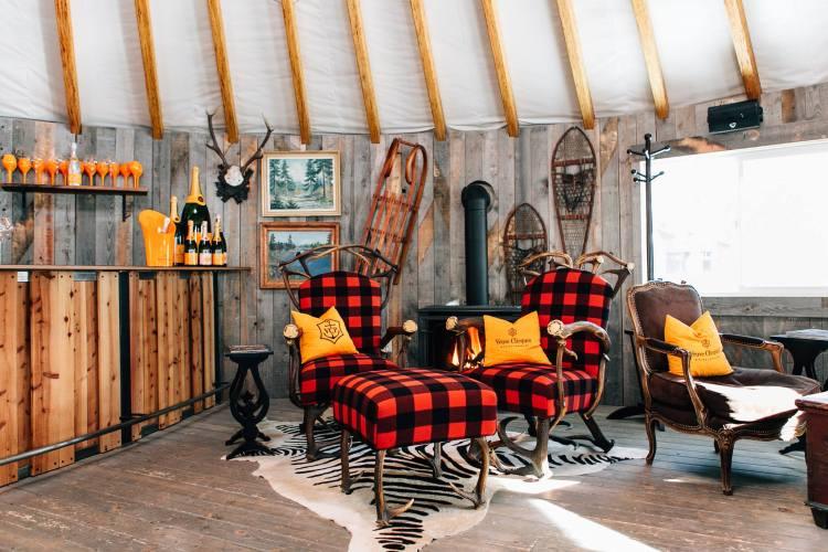 Montage Deer Valley Veuve Clicquot Yurt