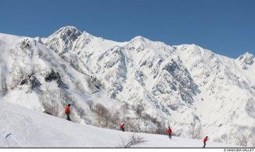 hakuba ski resort, japanese alps