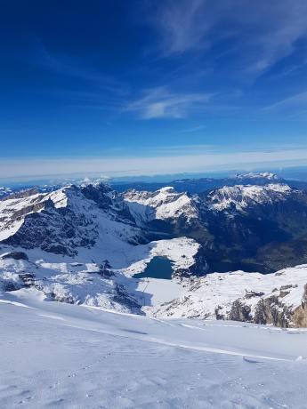 Engelberg Titlis glacier skiing