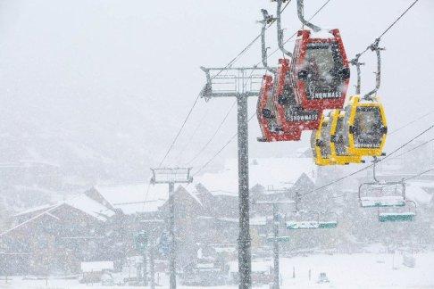 snowmass base village, snowmass village, new snowmass base village