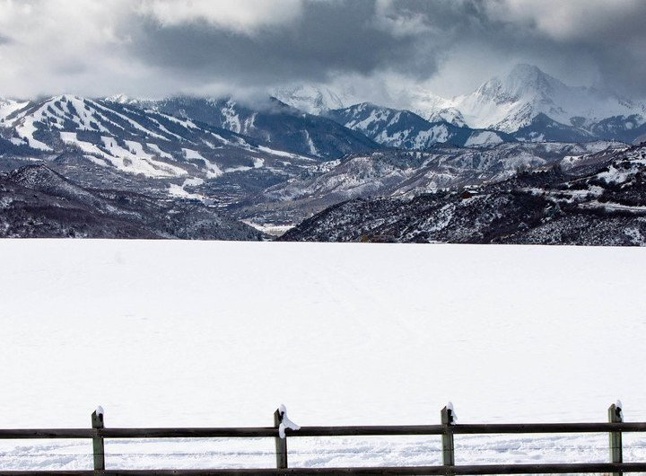 snow Snowmass, snowfall snowmass