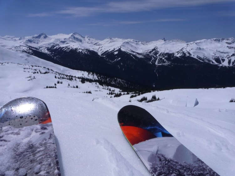 Spring skiing in Whistler, Whistler April skiing, BC spring skiing