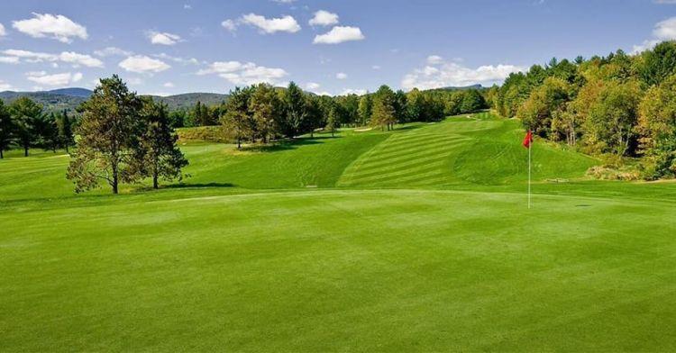 Spruce Peak golf course