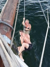 Skibet træskib båd sejlads 1