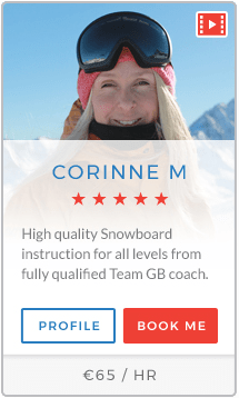 Corinne M Instructor Val d'Isère