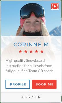 Corinne M Instructor Val Thorens