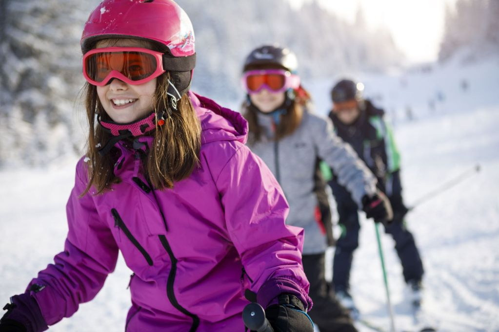 Family Ski Lessons Courchevel
