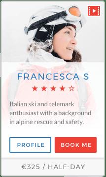 Francesca S Instructor Val Thorens