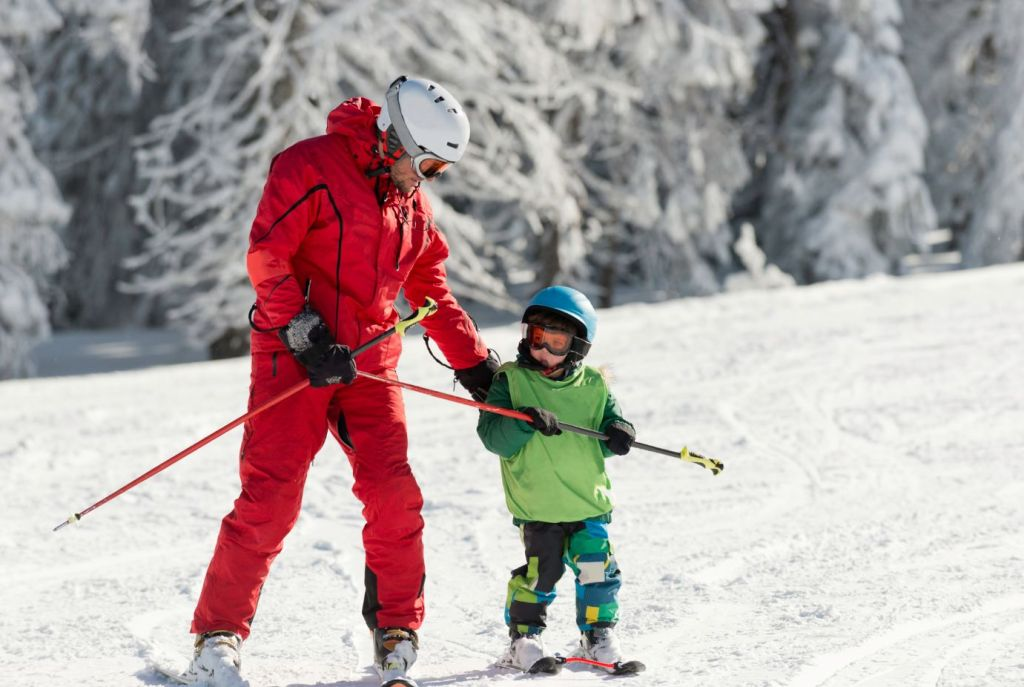 Kids Ski Lessons Courchevel