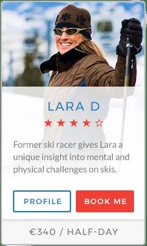 Lara D Instructor Méribel