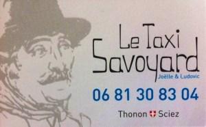 Taxi Savoyard