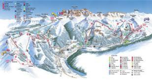 Chatel Piste Map