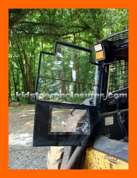 New Holland L223 Skidsteer Cab Enclosure