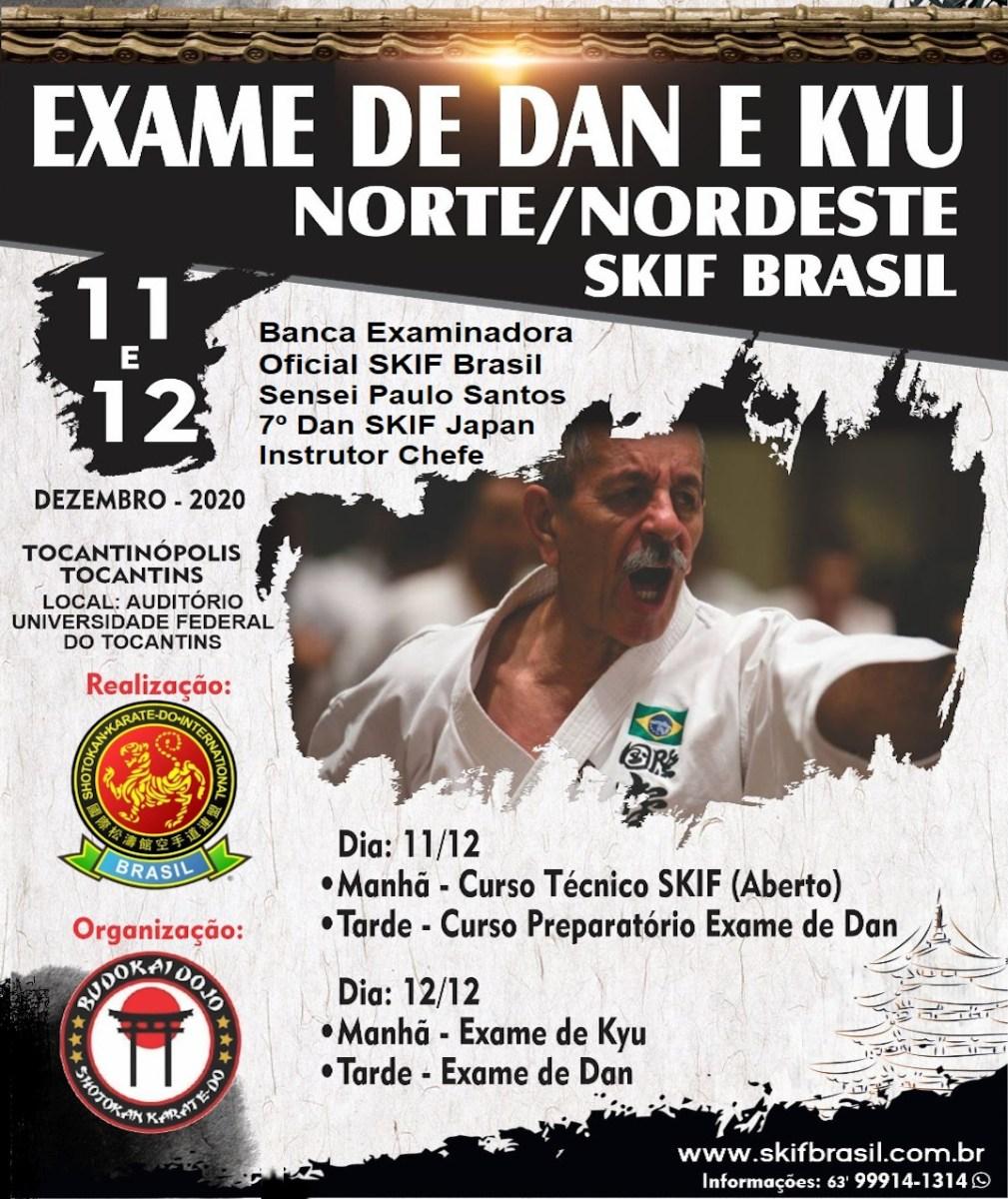 Exame de Dan e Kyu - Norte e Nordeste