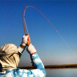 Richard has tried desperately to destroy a bamboo fly rod in the last two days, …