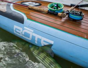 Paddle boards are one of the best ways to target bonefish.