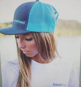 An o.g hookhead…  sporting our electric blue cap!                             …