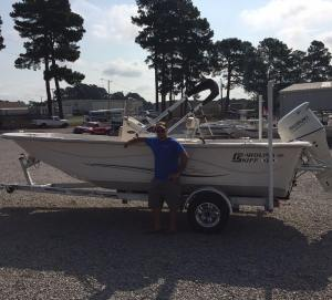 Carolina Skiff – Marc Z would like to thank Cory Harwood for the business and congrats on the new…