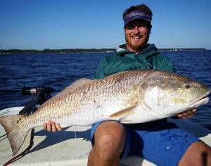 We grow them old red drum big in North Carolina. Nice fish,  and glad I could be…