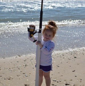 camped and fished on the beach with this little babe all weekend   …