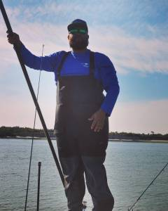 Poling the flats searching for cobia. Now Booking sight fishing trips in my poli…