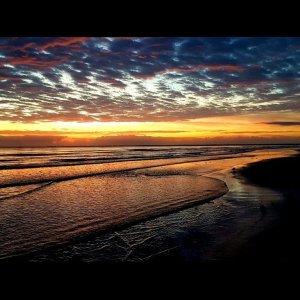 Beach Sunset              …