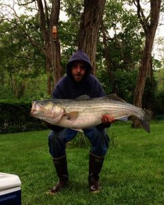 """This monster is my personal best from off the beach!! 44"""" 33lbs and was only swi…"""