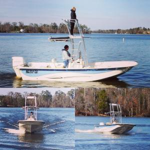 Fish all day, everyday! Let us customize you a new Carolina Skiff! Call me today…