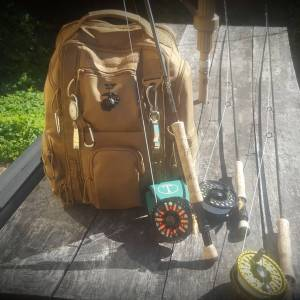 First day of chasing bull reds, Packed and ready for tomorrow … .     …
