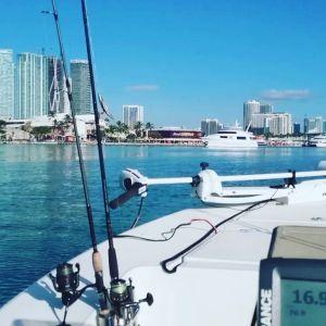 Downtown Miami Skiffin'