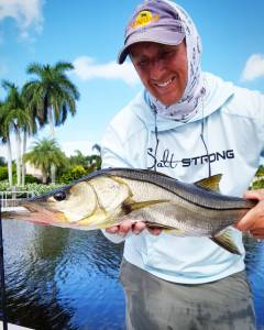 Hunting the fertile snook grounds of Naples with my friend Captain Justin Napior…