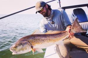 I love Louisiana and Redfish! I fished a popper all day! Soo much fun! . Big tha…