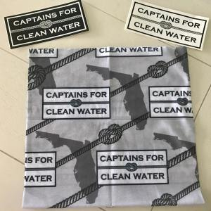 Shout out to Captains for Clean Water for the stickers and Hoo-rag. Even if you …