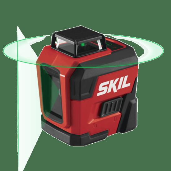 skil laser level 360 degree green