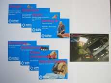 Drs A & B cards - Set of 3