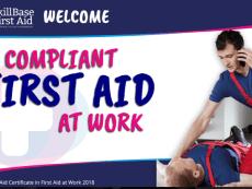 First Aid at Work Presentation 2018