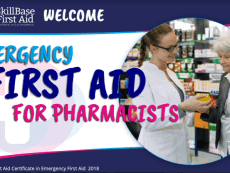 Emergency First Aid for Pharmacists Presentation 2018
