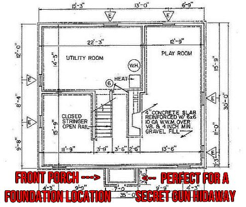 Basement Gun Hiding Location