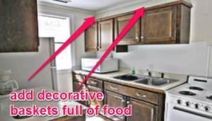 Above Kitchen Cabinets Food Storage