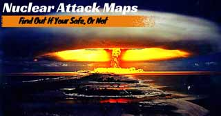 Nuclear Attack Maps