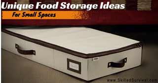 Unique Food Storage Ideas