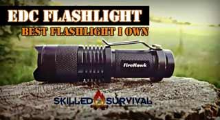 Best EDC Flashlight - FireHawk