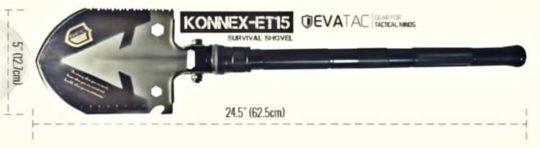 KONNEX Survival Shovel
