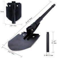 military mulitool backpacking shovel
