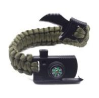 MilitOutdoor Paracord Bracelet